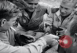 Image of US-Russian soldiers listen guitar Kaesong Korea 38th Parallel, 1945, second 10 stock footage video 65675028819