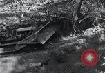 Image of Bulldozer clears road Burma, 1943, second 5 stock footage video 65675028820