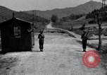Image of US Outposts No 12 and 13 Kaesong Korea 38th Parallel, 1947, second 8 stock footage video 65675028823