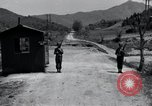 Image of US Outposts No 12 and 13 Kaesong Korea 38th Parallel, 1947, second 10 stock footage video 65675028823