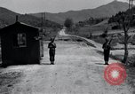 Image of US Outposts No 12 and 13 Kaesong Korea 38th Parallel, 1947, second 11 stock footage video 65675028823