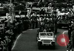 Image of Parade by Korean Constabulary Seoul Korea, 1948, second 9 stock footage video 65675028826