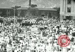 Image of Korean bands students and civilians march Seoul Korea, 1948, second 1 stock footage video 65675028828