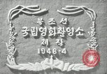 Image of Morning of the Independence Day Pyongyang North Korea, 1948, second 5 stock footage video 65675028834