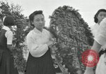 Image of Independene Day celebrations at Tower of Liberation Pyongyang North Korea, 1948, second 5 stock footage video 65675028836