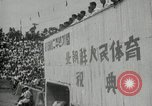 Image of Sports festival at the Pyongyang Stadium Pyongyang North Korea, 1948, second 3 stock footage video 65675028837