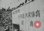 Image of Sports festival at the Pyongyang Stadium Pyongyang North Korea, 1948, second 4 stock footage video 65675028837