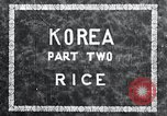 Image of Korean farmer irrigates rice field Korea, 1936, second 3 stock footage video 65675028850