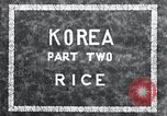 Image of Korean farmer irrigates rice field Korea, 1936, second 6 stock footage video 65675028850