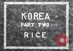 Image of Korean farmer irrigates rice field Korea, 1936, second 7 stock footage video 65675028850