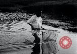 Image of Korean farmers fishing Korea, 1936, second 8 stock footage video 65675028852