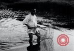Image of Korean farmers fishing Korea, 1936, second 9 stock footage video 65675028852