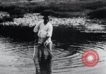 Image of Korean farmers fishing Korea, 1936, second 12 stock footage video 65675028852