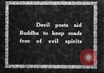Image of Devil Post in crop field Korea, 1936, second 3 stock footage video 65675028853