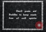 Image of Devil Post in crop field Korea, 1936, second 5 stock footage video 65675028853