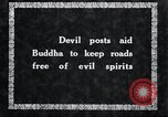 Image of Devil Post in crop field Korea, 1936, second 6 stock footage video 65675028853