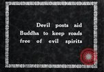 Image of Devil Post in crop field Korea, 1936, second 7 stock footage video 65675028853