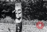 Image of Devil Post in crop field Korea, 1936, second 8 stock footage video 65675028853