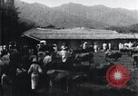 Image of Korean farmers at a bull's market Korea, 1936, second 9 stock footage video 65675028855