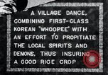 Image of Korean villagers appease local spirits Korea, 1936, second 1 stock footage video 65675028858