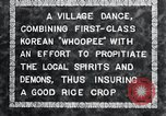 Image of Korean villagers appease local spirits Korea, 1936, second 2 stock footage video 65675028858