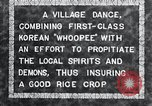 Image of Korean villagers appease local spirits Korea, 1936, second 3 stock footage video 65675028858