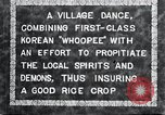 Image of Korean villagers appease local spirits Korea, 1936, second 4 stock footage video 65675028858