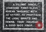 Image of Korean villagers appease local spirits Korea, 1936, second 5 stock footage video 65675028858