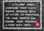 Image of Korean villagers appease local spirits Korea, 1936, second 7 stock footage video 65675028858