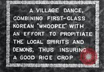 Image of Korean villagers appease local spirits Korea, 1936, second 8 stock footage video 65675028858