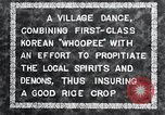 Image of Korean villagers appease local spirits Korea, 1936, second 10 stock footage video 65675028858