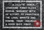 Image of Korean villagers appease local spirits Korea, 1936, second 12 stock footage video 65675028858