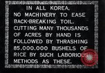 Image of threshing Korea, 1936, second 2 stock footage video 65675028861
