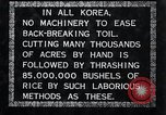 Image of threshing Korea, 1936, second 4 stock footage video 65675028861