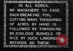 Image of threshing Korea, 1936, second 6 stock footage video 65675028861