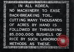 Image of threshing Korea, 1936, second 9 stock footage video 65675028861