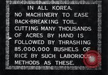 Image of threshing Korea, 1936, second 10 stock footage video 65675028861