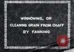 Image of winnowing Korea, 1936, second 8 stock footage video 65675028862