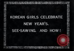 Image of Korean girls Korea, 1936, second 3 stock footage video 65675028868