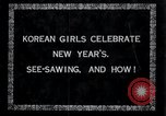 Image of Korean girls Korea, 1936, second 5 stock footage video 65675028868
