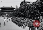 Image of US Company B 184th Infantry Regiment Kyongsong South Korea, 1945, second 10 stock footage video 65675028873