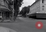 Image of deserted streets Saigon Vietnam, 1955, second 7 stock footage video 65675028885