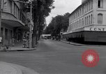 Image of deserted streets Saigon Vietnam, 1955, second 8 stock footage video 65675028885