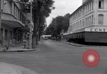 Image of deserted streets Saigon Vietnam, 1955, second 9 stock footage video 65675028885