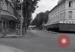 Image of deserted streets Saigon Vietnam, 1955, second 11 stock footage video 65675028885