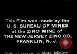 Image of Zinc plant workers Franklin New Jersey USA, 1914, second 11 stock footage video 65675028892