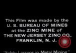 Image of Zinc plant workers Franklin New Jersey USA, 1914, second 12 stock footage video 65675028892