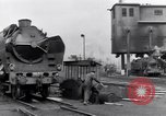 Image of rail yard Paris France, 1954, second 2 stock footage video 65675028936