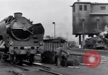 Image of rail yard Paris France, 1954, second 3 stock footage video 65675028936