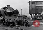 Image of rail yard Paris France, 1954, second 4 stock footage video 65675028936